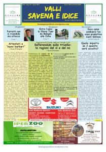 N.31_Aprile 2016_Prima Pagina