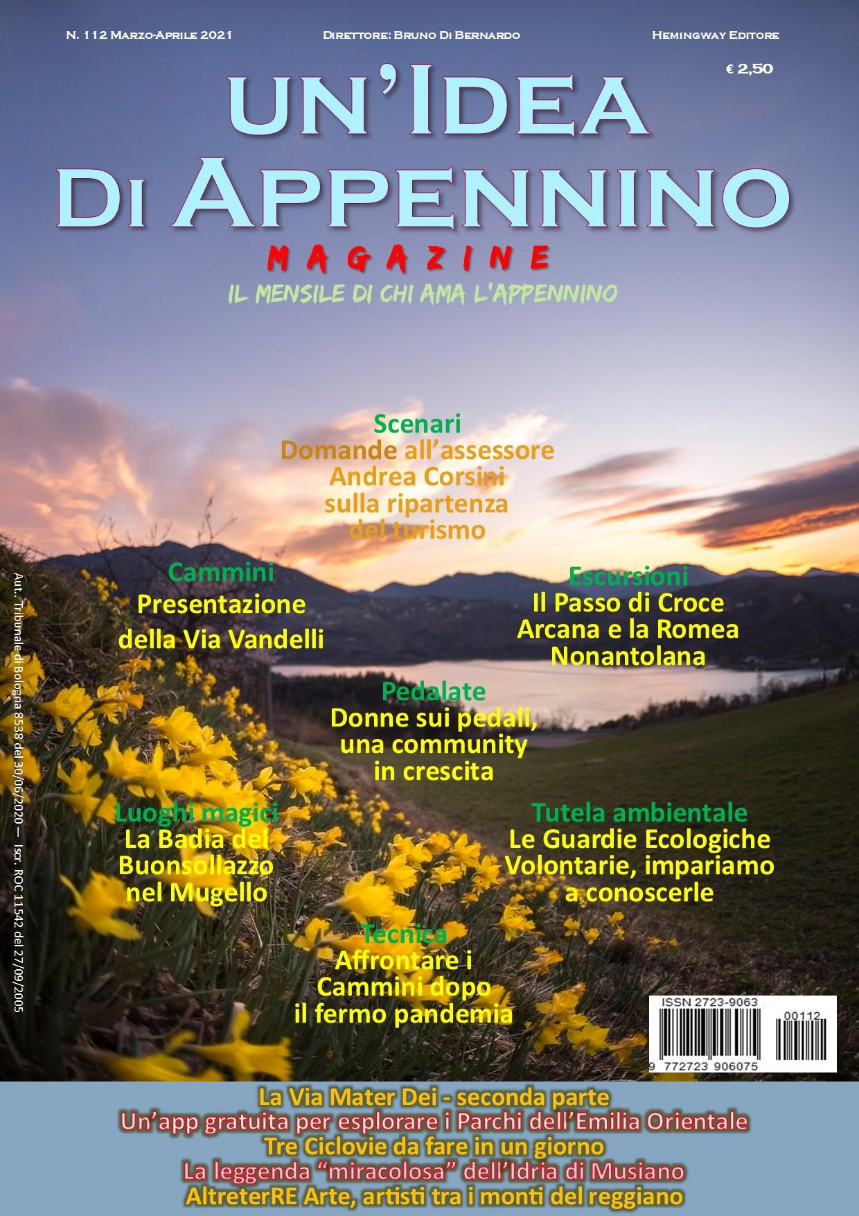 Idea112Magazine_Marzo-Aprile21_Prima Pagina