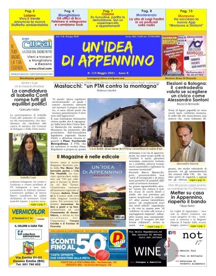 IdeaTabloid114_Maggio21_PrimaPagina