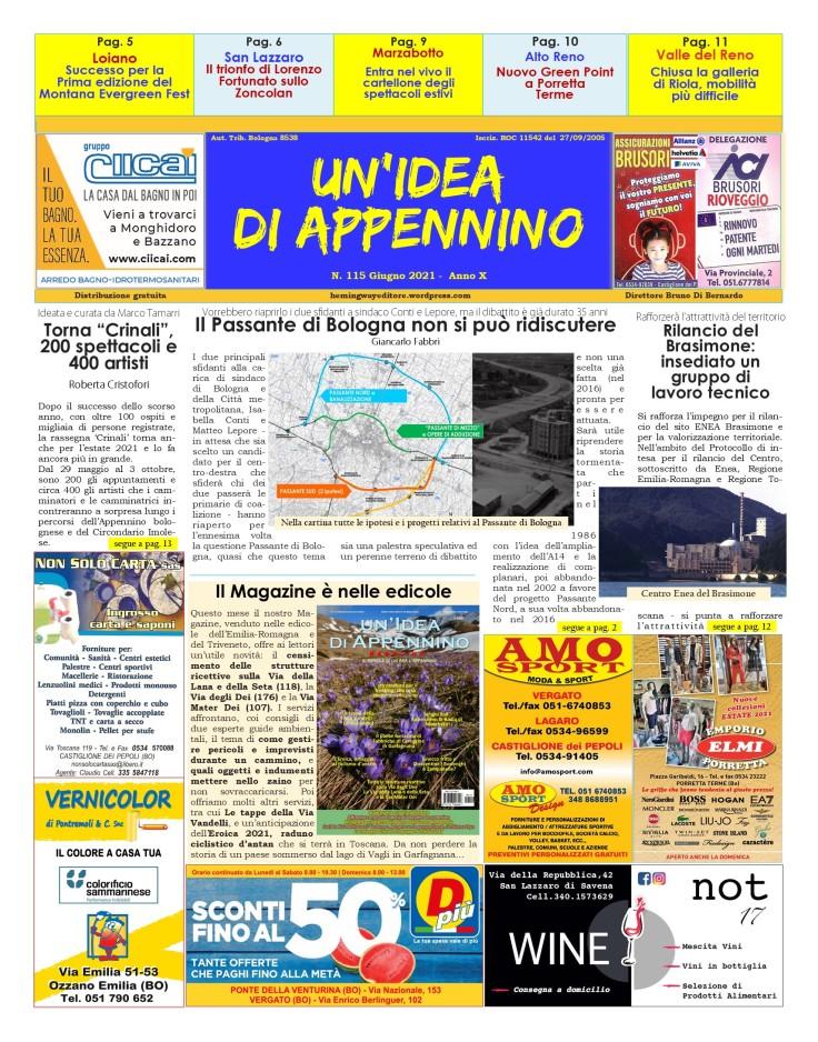 IdeaTabloid115_Giugno21-primaPagina